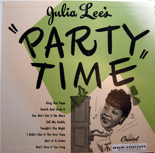 "Julia Lee / ""Party Time"""